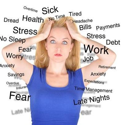 6 căn bệnh thường gặp do stress gây ra, 6 can benh thuong gap do stress gay ra